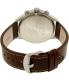 Timex Men's Intelligent TW2P78800 Brown Leather Analog Quartz Watch - Back Image Swatch