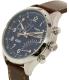 Timex Men's Intelligent TW2P78800 Brown Leather Analog Quartz Watch - Side Image Swatch