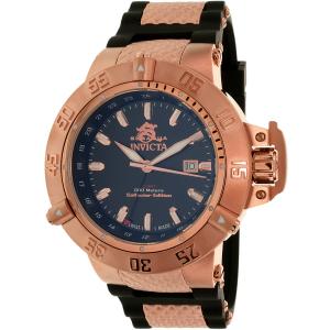 Invicta Men's Subaqua 80427 Rose Gold Resin Quartz Watch
