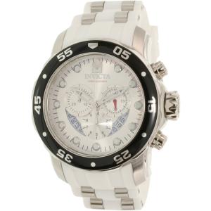 Invicta Men's Pro Diver 20290 Silver Resin Quartz Watch