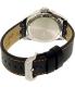 Invicta Men's Pro Diver 22071 Black Leather Quartz Watch - Back Image Swatch