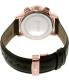 Hugo Boss Men's 1513264 Black Leather Swiss Quartz Watch - Back Image Swatch