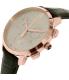 Hugo Boss Men's 1513264 Black Leather Swiss Quartz Watch - Side Image Swatch