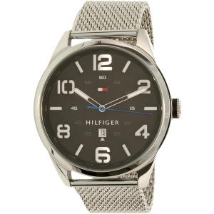Tommy Hilfiger Men's Conner 1791161 Silver Stainless-Steel Quartz Watch