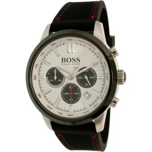 Hugo Boss Men's 1513185 Black Silicone Quartz Watch
