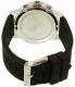 Hugo Boss Men's 1513185 Black Silicone Quartz Watch - Back Image Swatch