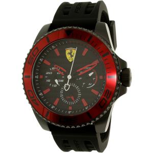 Ferrari Men's Kers 0830310 Black Rubber Quartz Watch