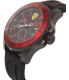 Ferrari Men's Kers 0830310 Black Rubber Quartz Watch - Side Image Swatch