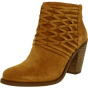 Jessica Simpson Women's Claireen Suede Ankle-High Suede Boot
