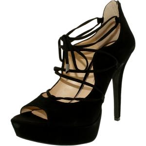 Jessica Simpson Women's Baylinn Suede Ankle-High Suede Pump