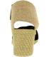 Lauren Ralph Lauren Women's Charla Elastic Ankle-High Synthetic Pump - Back Image Swatch