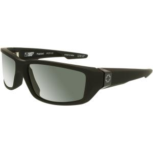 Spy Men's Polarized Dirty Mo 670937219864 Black Rectangle Sunglasses