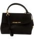 Michael Kors Women's Extra Small Ava Saffiano Leather Crossbody Leather Top-Handle Baguette - Main Image Swatch