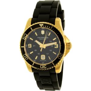 Victorinox Swiss Army Women's 249101 Black Silicone Swiss Quartz Watch