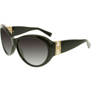 Michael Kors Women's Gradient Paris MK2002MB-300511-60 Black Round Sunglasses