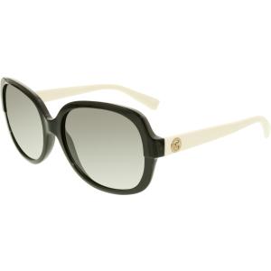 Michael Kors Women's Gradient Isle Of Skye MK6017-305211-58 Black Butterfly Sunglasses