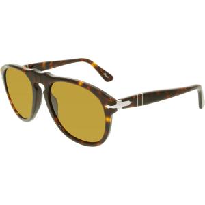 Persol Women's  PO0649-24/33-54 Brown Butterfly Sunglasses