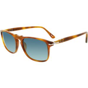 Persol Men's Polarized  PO3059S-96/S3-54 Brown Square Sunglasses