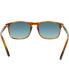 Persol Men's Polarized  PO3059S-96/S3-54 Brown Square Sunglasses - Back Image Swatch