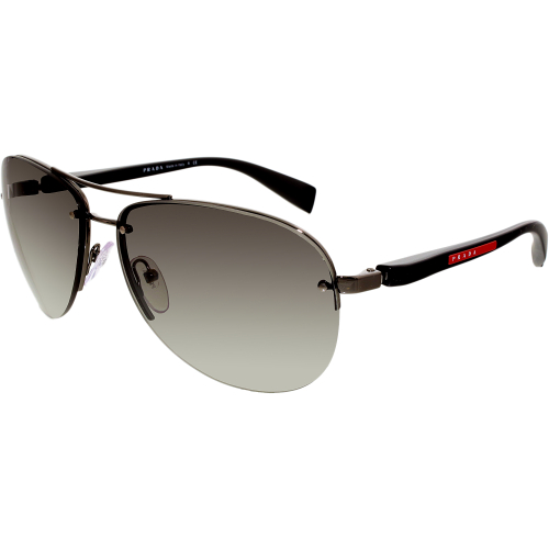 Prada Women's Gradient Linea Rossa PS56MS-5AV3M1-62 Black Av