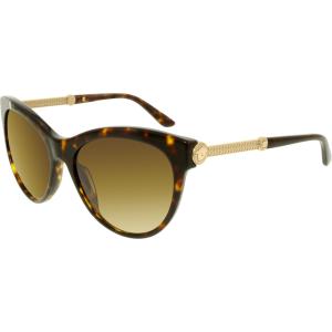 Versace Women's Gradient  VE4292-108/13-57 Brown Butterfly Sunglasses