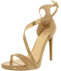 Jessica Simpson Women's Rayli Leather Ankle-High Synthetic Pump - Main Image Swatch