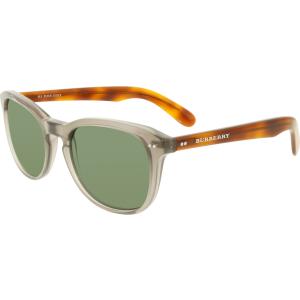Burberry Women's  BE4214-355271-55 Purple Oval Sunglasses