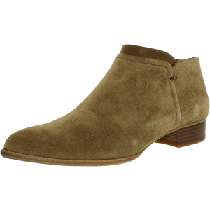 Vince Camuto Women's Jody Suede Ankle-High Suede Flat Shoe