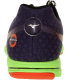 Mizuno Women's Wave Hitogami Mens Ankle-High Synthetic Running Shoe - Back Image Swatch