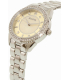 Bulova Women's 96L220 Silver Stainless-Steel Quartz Watch - Side Image Swatch