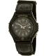 Casio Men's Core FT500WB-1BV Black Nylon Quartz Watch - Main Image Swatch