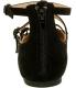 Rocket Dog Women's Jaz Coast Fabric Ankle-High Suede Flat Shoe - Back Image Swatch