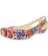 Crocs Women's Kadee Floral Flat Ankle-High Rubber Flat Shoe - Main Image Swatch