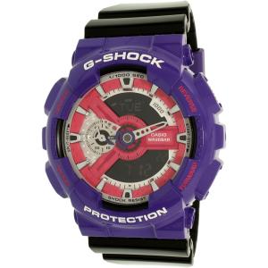 Casio Women's G-Shock GA110NC-6A Purple Plastic Quartz Watch