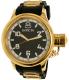 Invicta Men's 1436 Black Rubber Swiss Quartz Watch - Main Image Swatch
