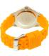 Invicta Women's Angel 18792 Orange Silicone Quartz Watch - Back Image Swatch