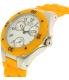 Invicta Women's Angel 18792 Orange Silicone Quartz Watch - Side Image Swatch