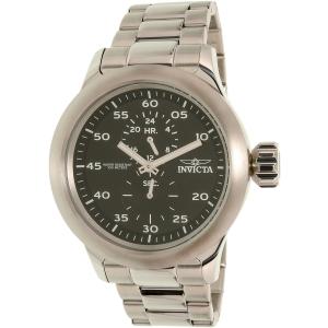 Invicta Men's 19491 Silver Stainless-Steel Quartz Watch