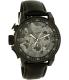 Invicta Men's 20542 Black Leather Quartz Watch - Main Image Swatch