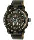 Invicta Men's 15906 Black Leather Quartz Watch - Main Image Swatch