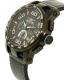 Invicta Men's 15906 Black Leather Quartz Watch - Side Image Swatch