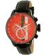 Invicta Men's 19291 Black Leather Quartz Watch - Main Image Swatch