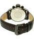 Invicta Men's 19291 Black Leather Quartz Watch - Back Image Swatch