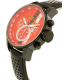 Invicta Men's 19291 Black Leather Quartz Watch - Side Image Swatch