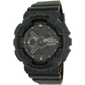 Casio Women's Baby-G BA110DC-2A1 Blue Plastic Quartz Watch