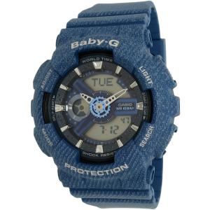 Casio Women's Baby-G BA110DC-2A2 Blue Plastic Quartz Watch