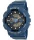 Casio Women's Baby-G BA110DC-2A2 Blue Plastic Quartz Watch - Main Image Swatch