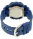 Casio Women's Baby-G BA110DC-2A2 Blue Plastic Quartz Watch - Back Image Swatch