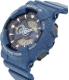 Casio Women's Baby-G BA110DC-2A2 Blue Plastic Quartz Watch - Side Image Swatch