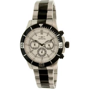 Invicta Men's Specialty 12843 Silver Stainless-Steel Quartz Watch
